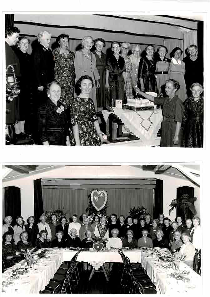 WI birthday and Valentine party 1959