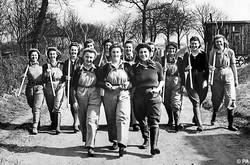 Land Girls group photo