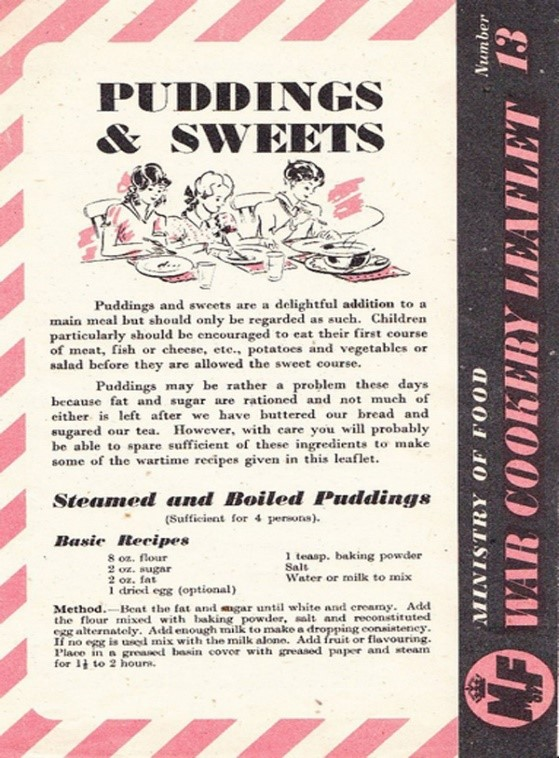 Ration Pudding