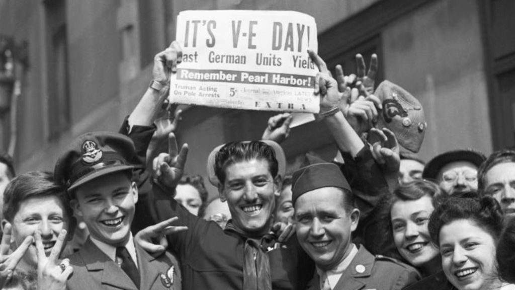 VE-Day Celebrations 1945