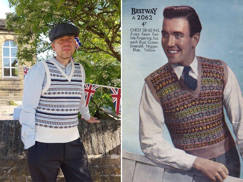 1940s 'Fair Isle' Knitwear
