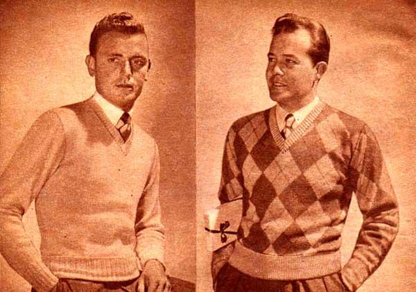 1943 Men's Sweaters