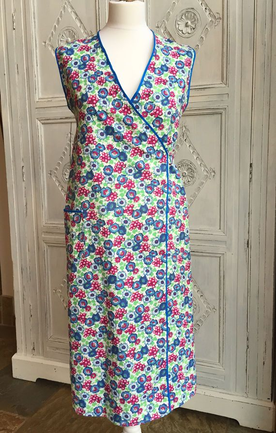 Floral 1940s 'Pinny'