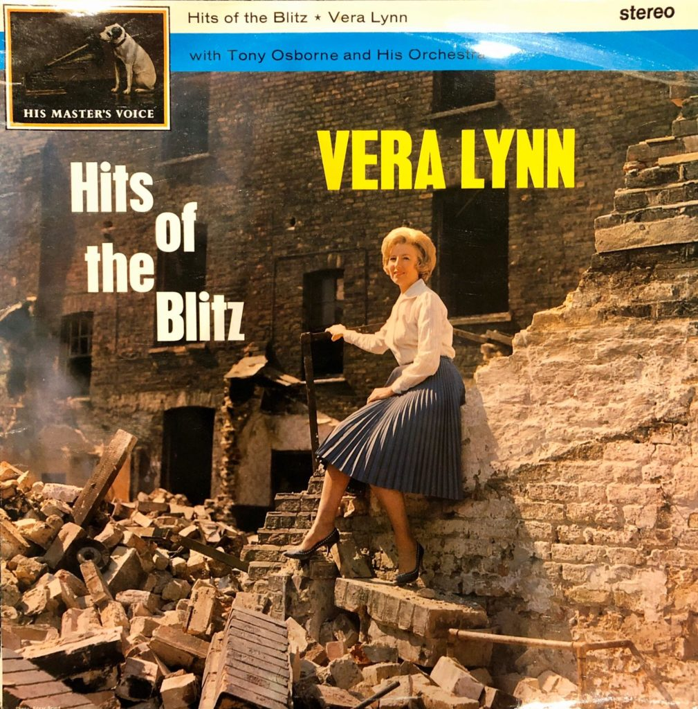 Vera Lynn, Hits of the Blitz album Cover
