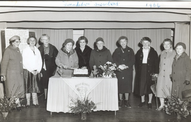 WI Foundation members 1964