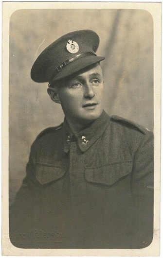 Leonard Quantick in Uniform WWII