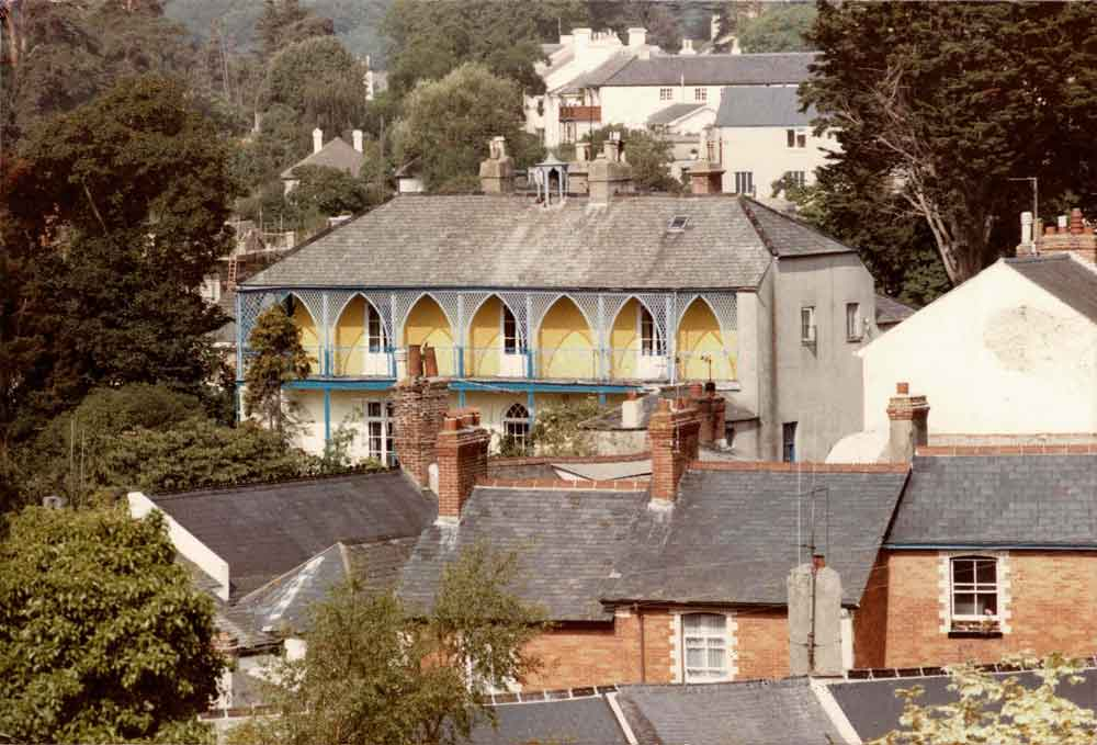 Photograph of Cross House, Bishopsteignton, late Twentieth Century, before conversion.