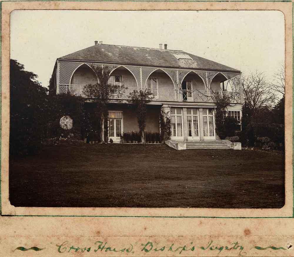 Photograph of Cross House, Bishopsteignton, early Twentieth Century