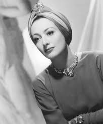 Joan Crawford wearing a Turban