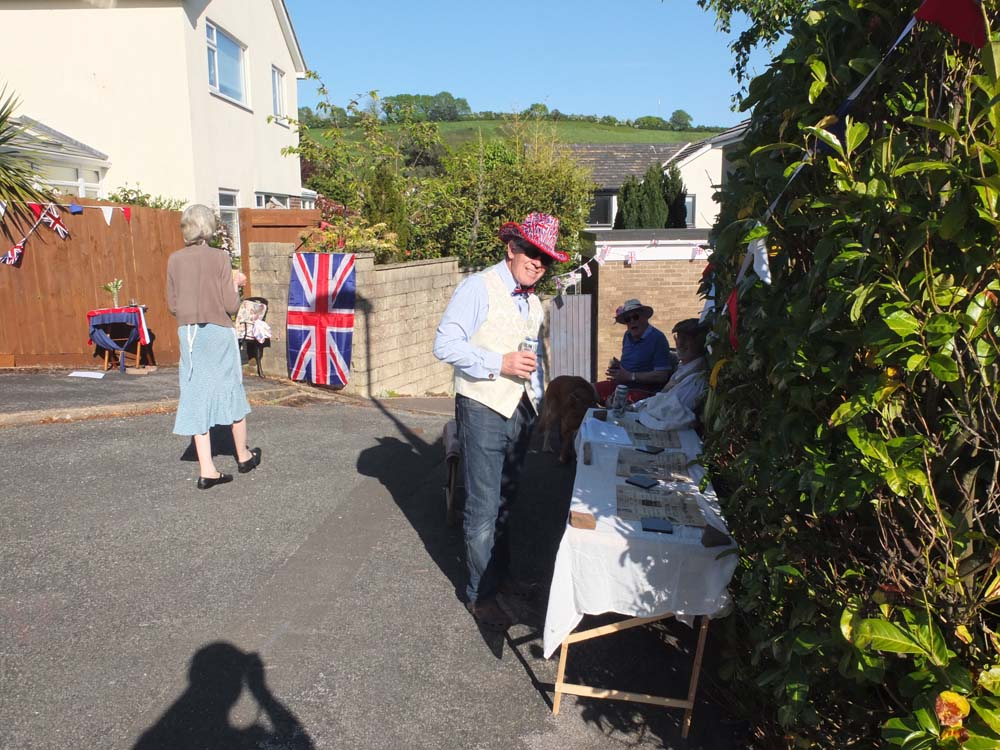 Street party VE Day 75