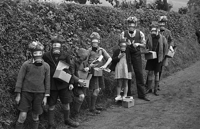 Evacuees in Montgomeryshire