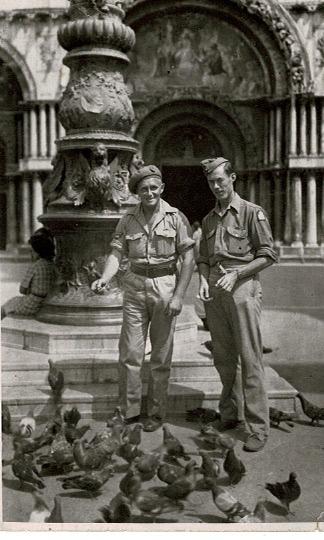 Leonard Quantick in Italy