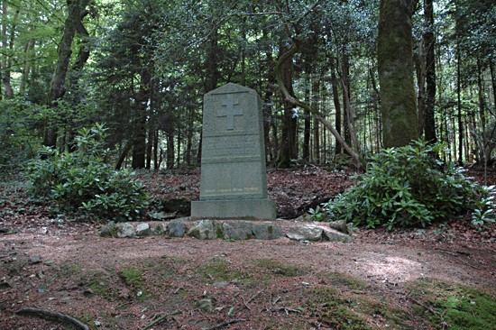 Monument to the Massacre at Pointois Wood