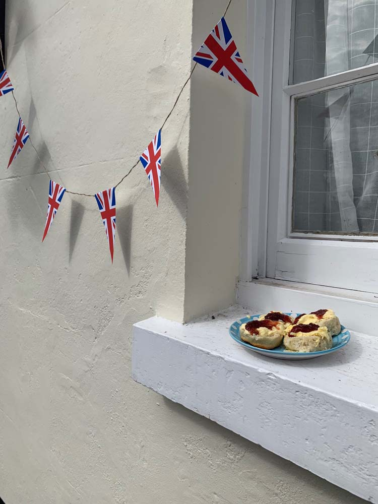 Devon cream tea for victory! VE Day 75