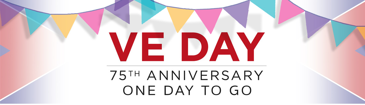 one day to go to VE celebrations in Bishopsteignton