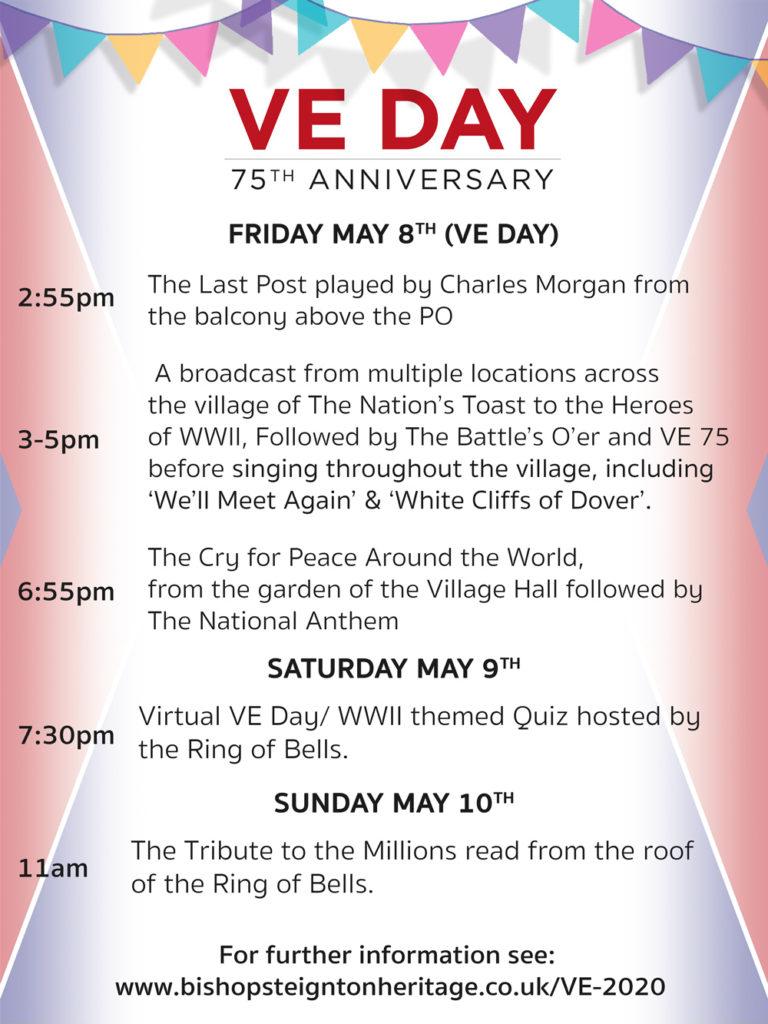Bishopsteignton VE-Day Programme
