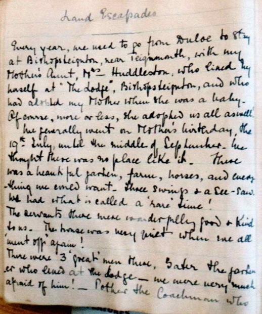 Charlotte Avarilla Cromwell Bush Diary 1