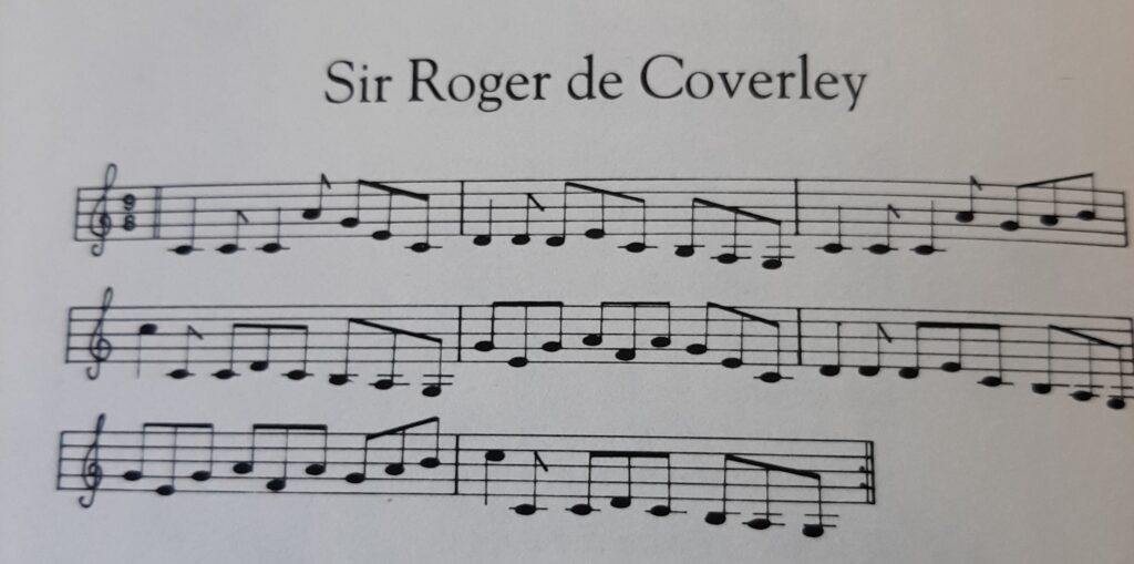 Sir Roger de Coverley music