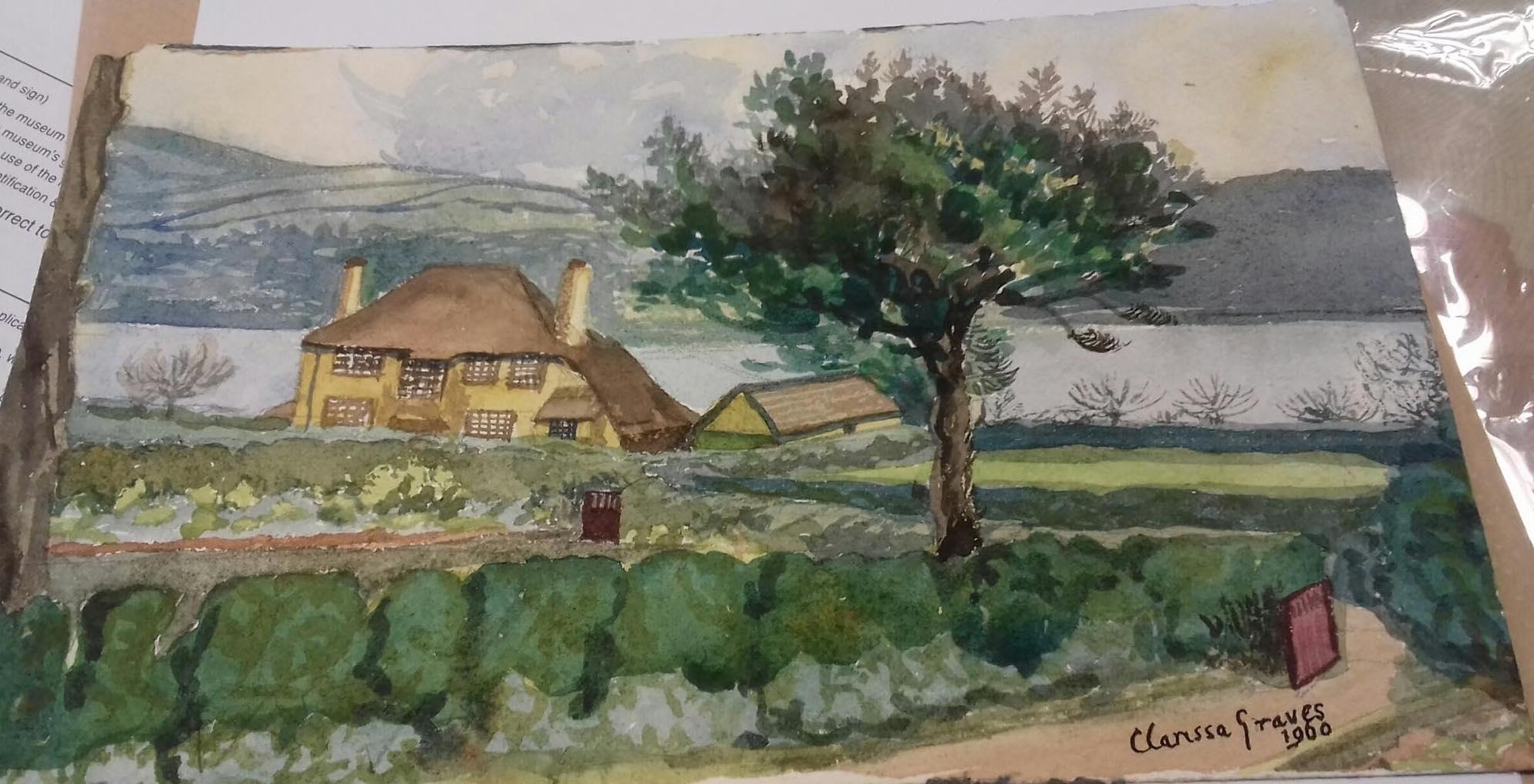 Clarissa Graves' Painting