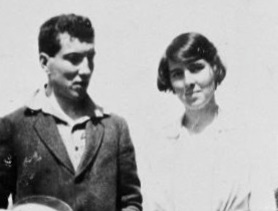 Rosaleen and Robert Graves, c1920