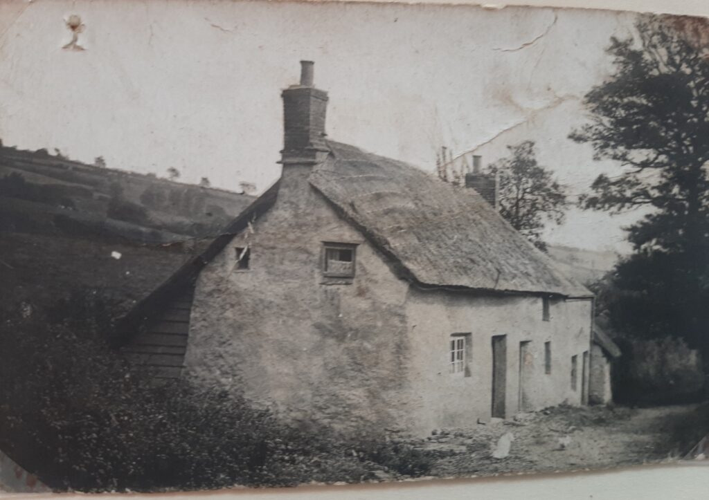 Withy Cottage, where Mr Webber lived
