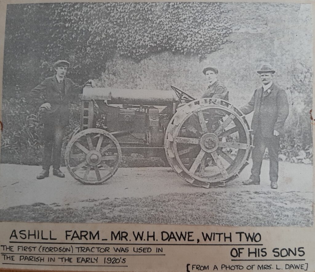 The Dawes with their Fordson Tractor