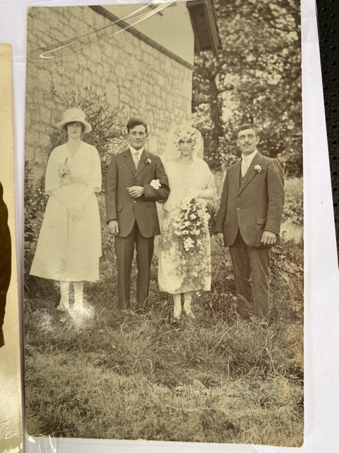 Sidney and Rose Evans' Wedding Day