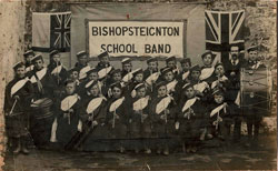 Bishopsteignton School Band 1905