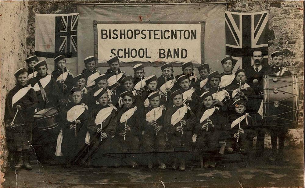 Bishopsteignton School Band 1905