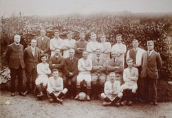 Bishopsteignton Football Team Circa 1921
