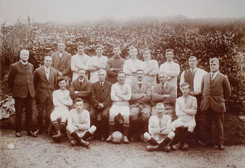 Bishopsteignton Football Team Circa 1921