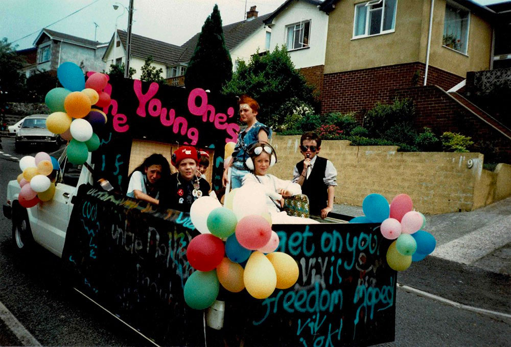 Young Ones Carnival Float