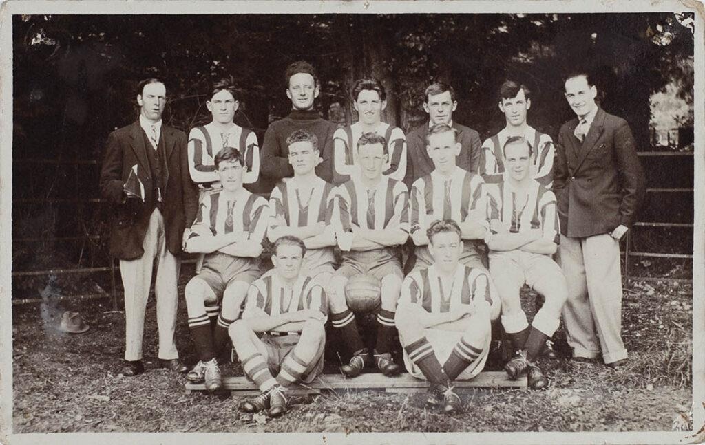 Photograph of Bishopsteignton A.F.C., 1928.