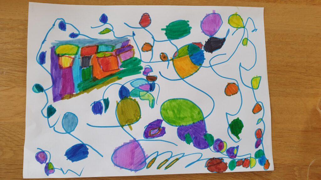 Bishopsteignton Primary School Lockdown Artwork