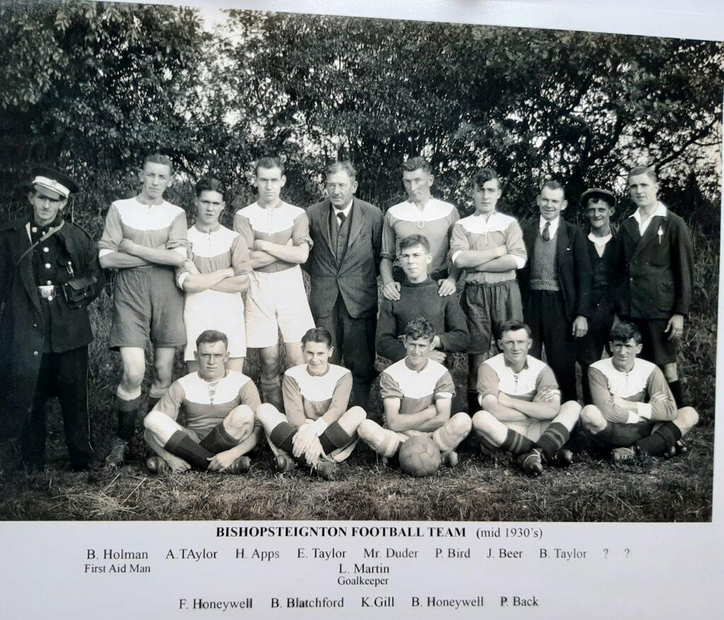Bishosteignton Football Club 1930s