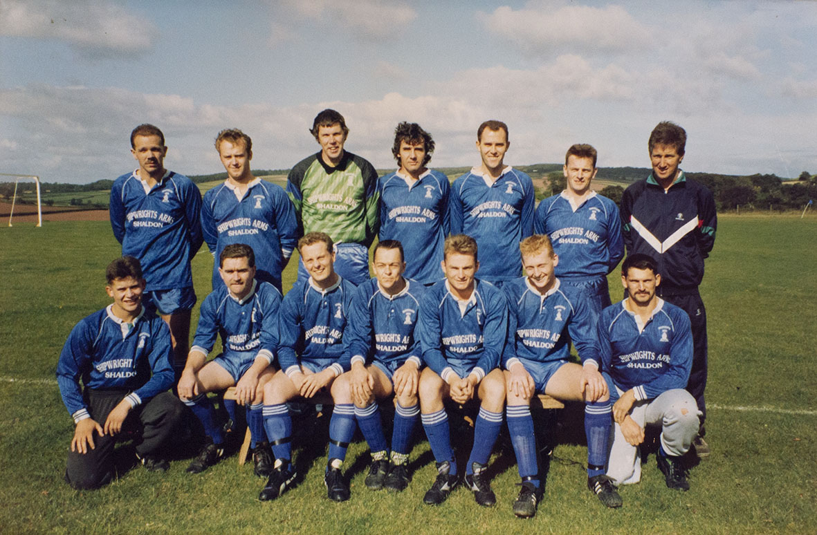 Photograph Bishopsteignton United Association Football Club 1st XI team