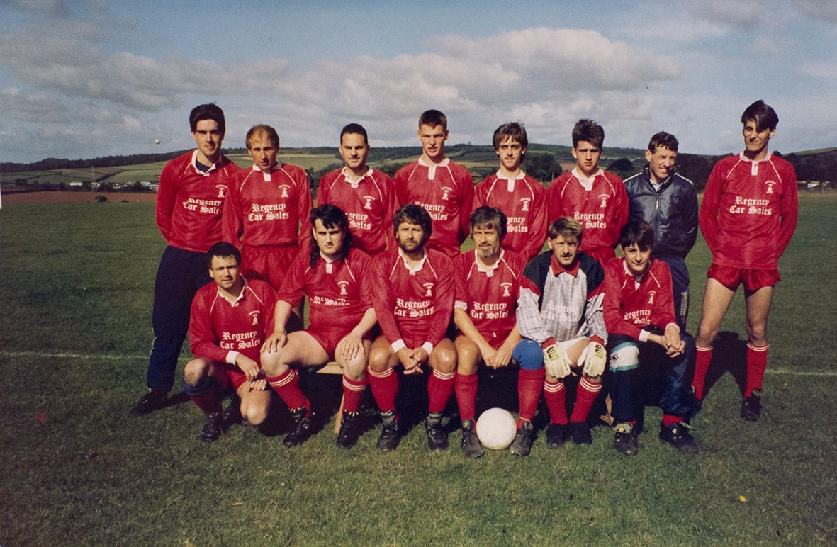 Photograph Bishopsteignton United Association Football Club 2nd XI team