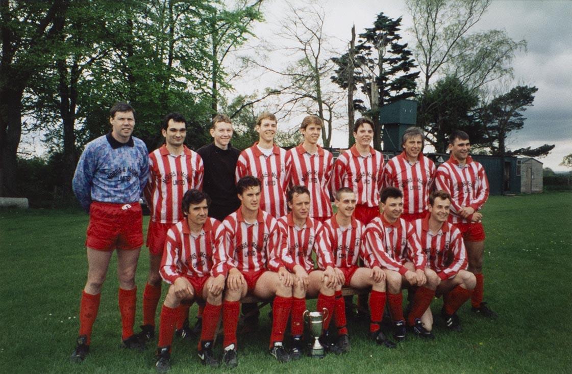 Photograph Bishopsteignton United Association Football Club team
