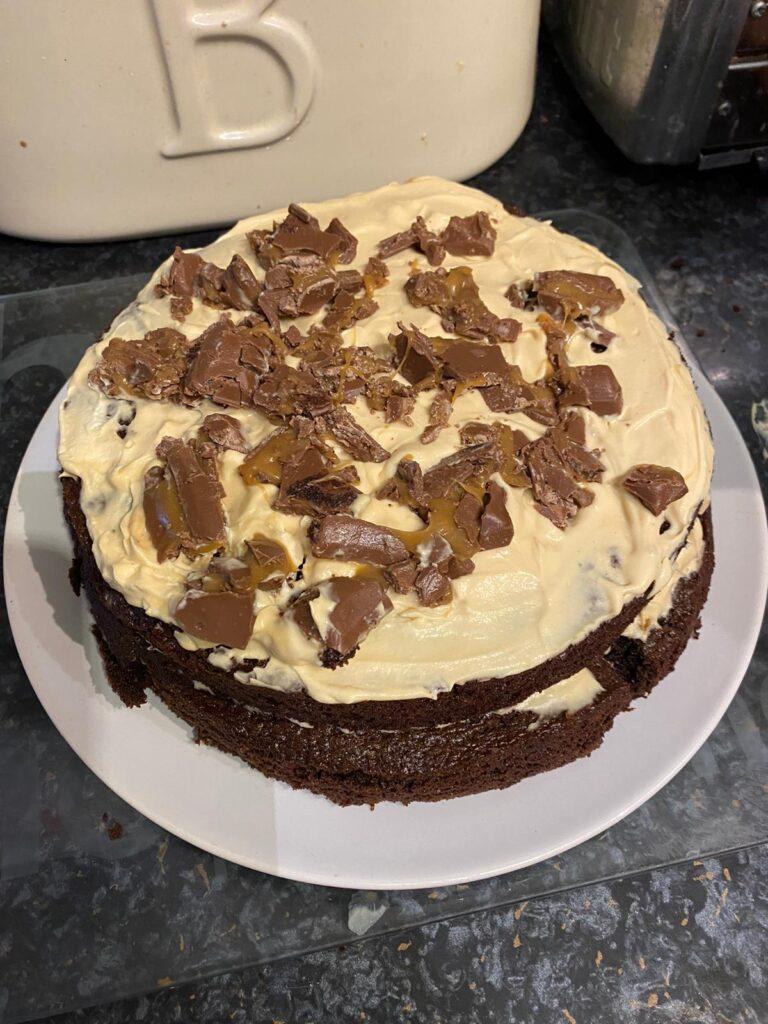 Lockdown cake