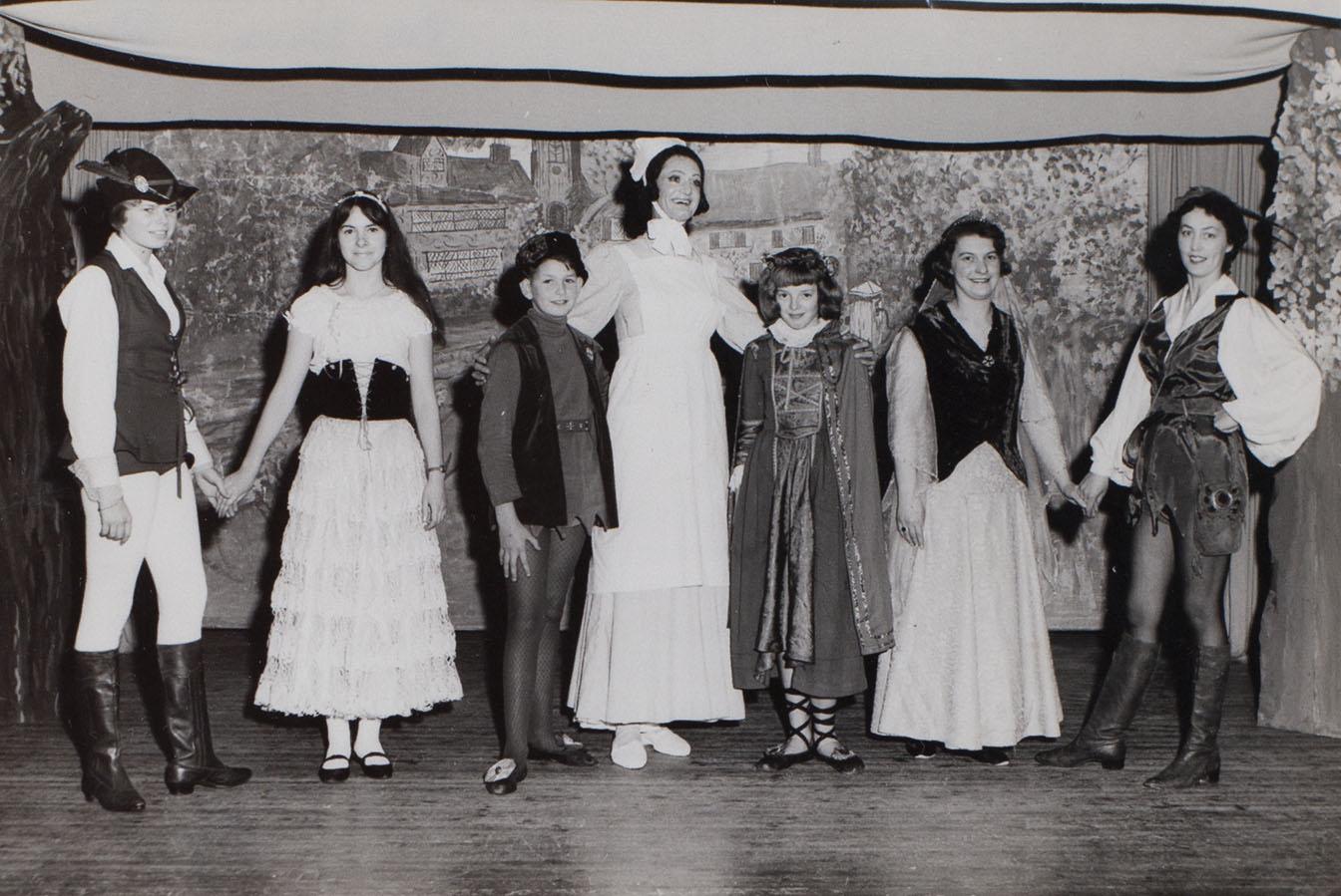 21024 Photograph Babes pantomime c1966