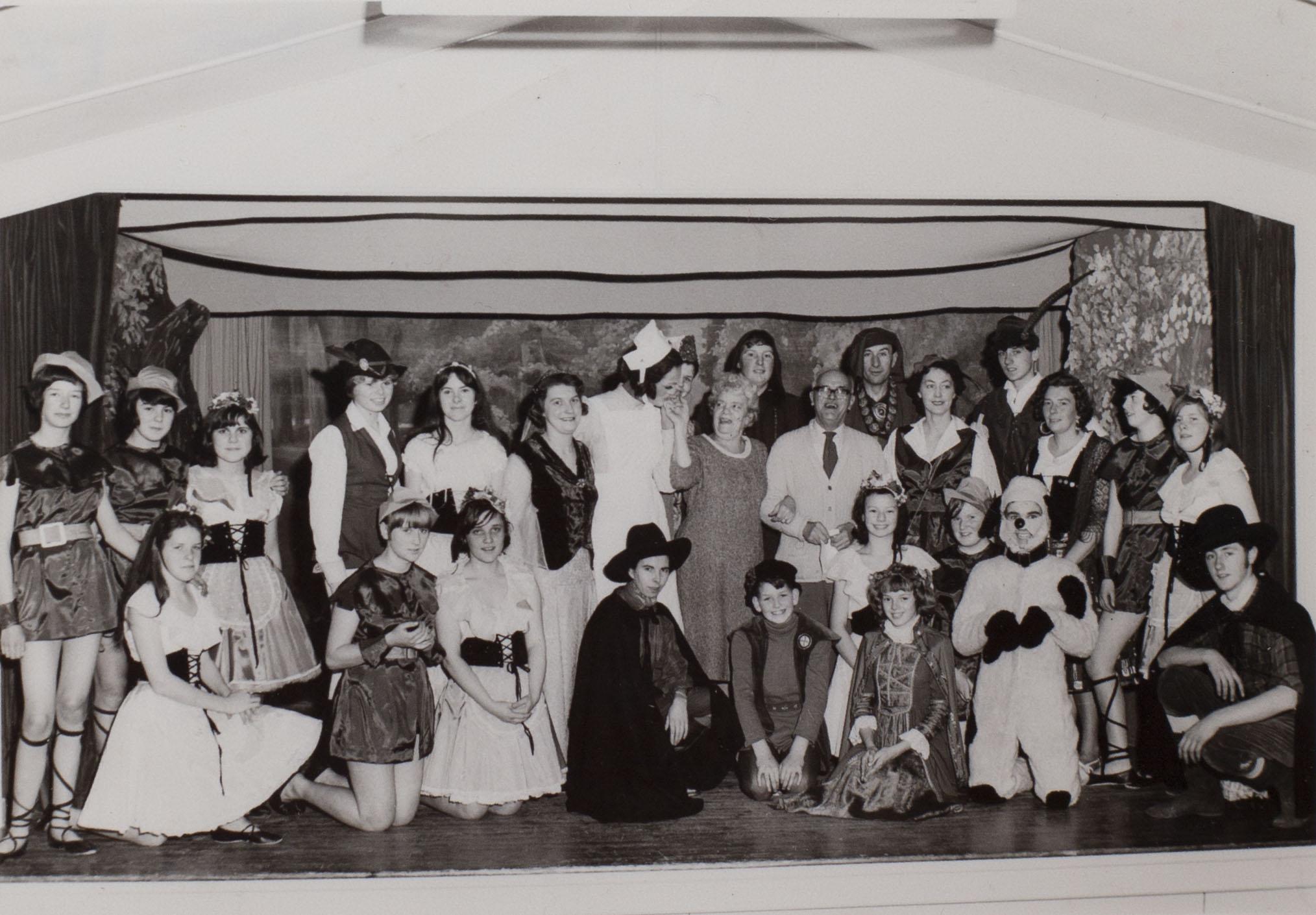 Photograph Babes pantomime c1966