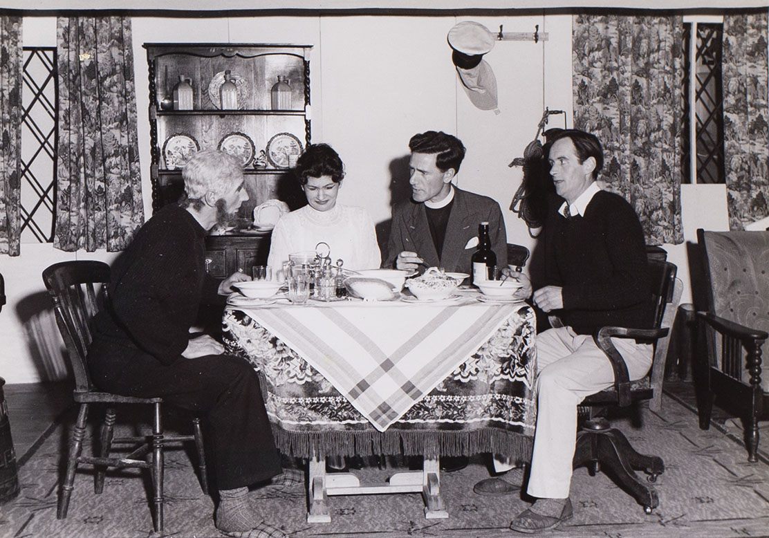 Photograph of a scene from the play 'Haul for the Shore' presented by Bishopsteignton Players in 1963