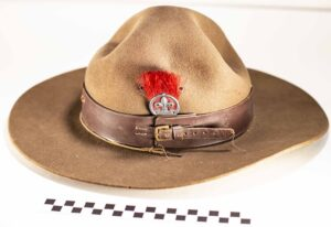 Scout Uniform Wide-brimmed Hat with Assistant Scout Leader badge
