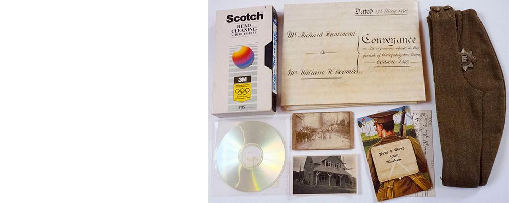 Cataloguing at Bishopsteignton Heritage