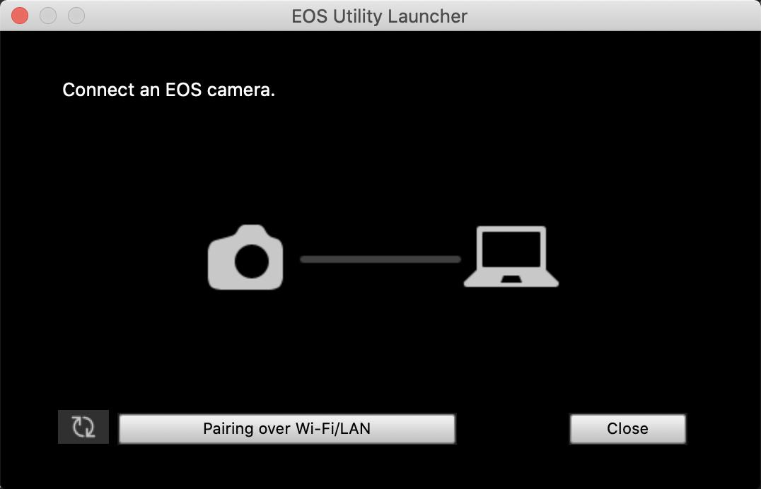 EOS Utility 3 application Launcher