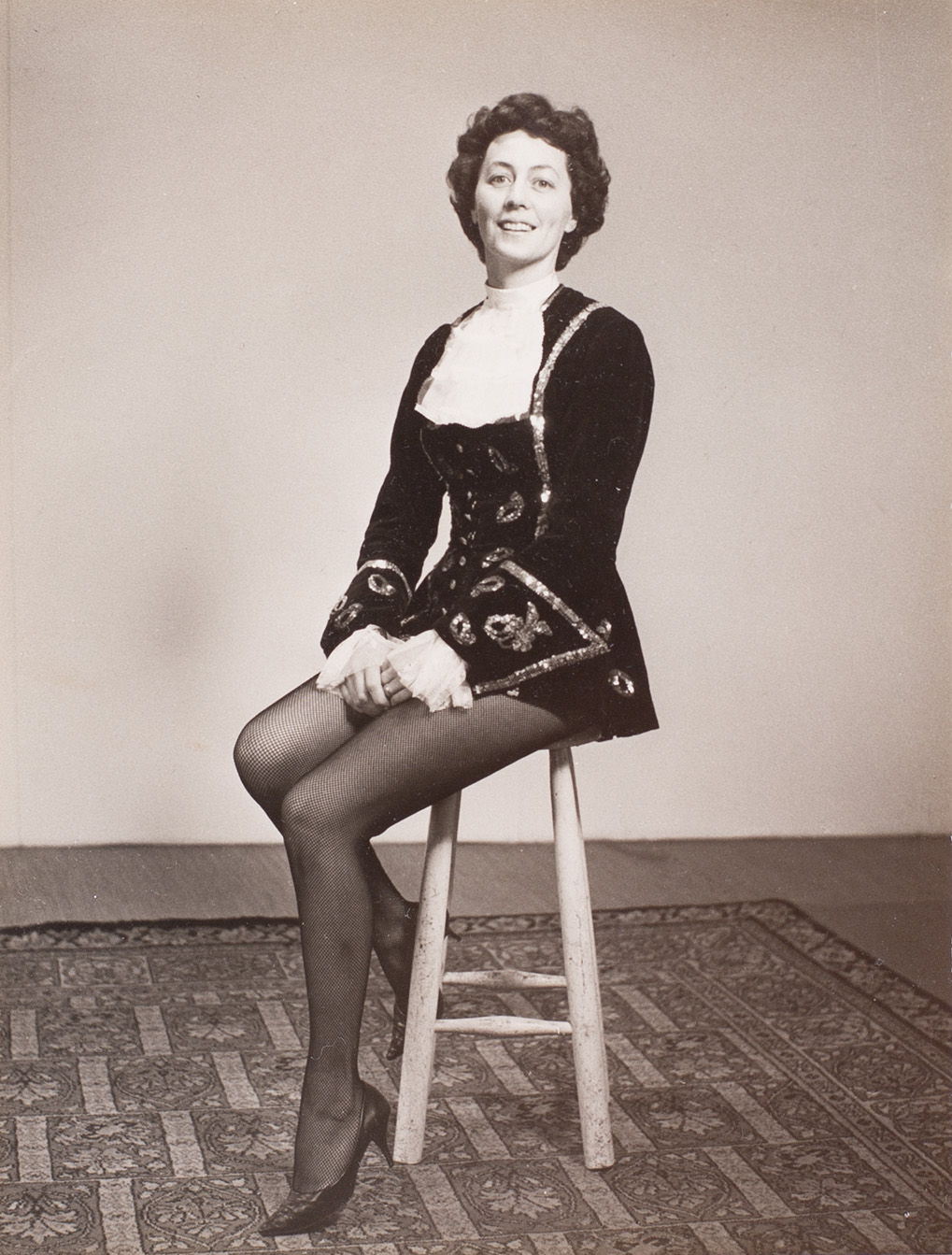 Photograph of Sheila Robbins in costume