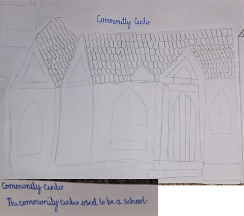 Community Centre drawing