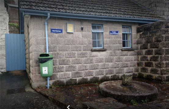 Forge now public toilets